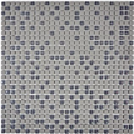 Cuba Glas Mosaik grau h10631