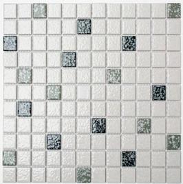 Classic Mosaik mix weiß mit schwarz h10169