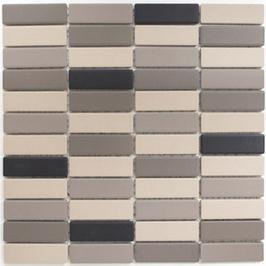Architecture Mosaik mix hellbeige mit grau h10281 (und oder) hellbeige h10286