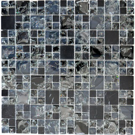 Ice Cube Mosaik mix schwarz h10961