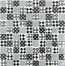 Retro Mosaik weiß h10796