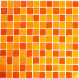 Timeless Mosaik mix gelb orange rot 4mm h10841 oder 8mm h10842