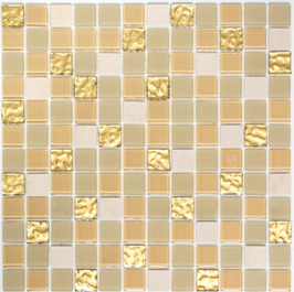 Improve Mosaik selbstklebend mix weiß gold h11150 SAM 4M362