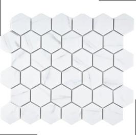 Carra Mosaik weiß h10116