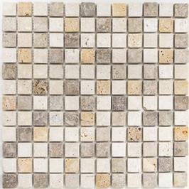 Face Mosaik mix beige mit braun h10616