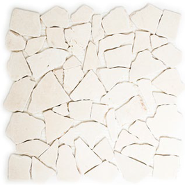 Hainan Mosaik weiß h10450, mix creme beige rot grün h10454, gelb h10457 (und oder) mix braun h10458