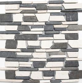 Bali Mosaik mix beige schwarz h10483