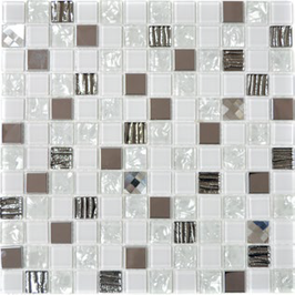 Diamond Mosaik mix weiß h10927