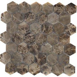 Hainan Mosaik braun h10467