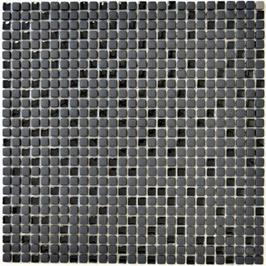 Cuba Glas Mosaik schwarz h10629