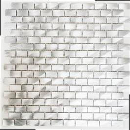 Modern Mosaik silber h10333