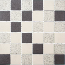 Salt Mosaik mix hellbeige mit grau h10322