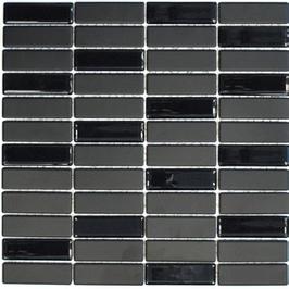 Architecture Mosaik schwarz h10314 mit Keramik Glas