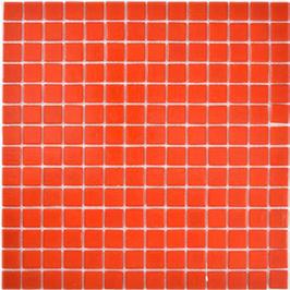 Glasmosaik Water rot h10687