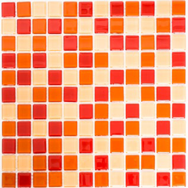 Timeless Mosaik mix ocker rot orange h10834