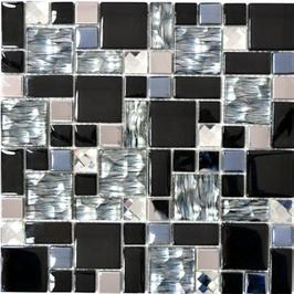 Diamond Mosaik mix schwarz h10922 (und oder) mix weiß h10928