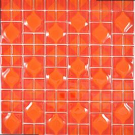 Wavy Mosaik rot h10870