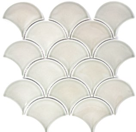 Fan Mosaik grau h10091