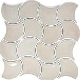 Fan Mosaik grau FS 13C