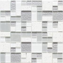 Artificial Mosaik mix weiß h10889