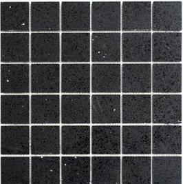 Artificial Mosaik schwarz h10625