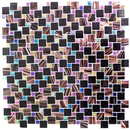 Goldstar Mosaik mix braun mit schwarz h10703