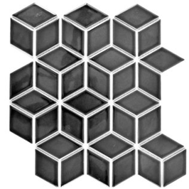 Diamond Mosaik schwarz h10085
