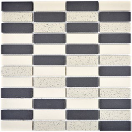 Salt Mosaik mix beige mit schwarz h10327 CU ST210