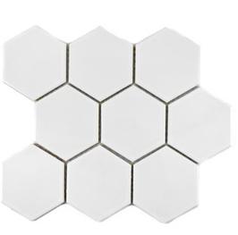 Hexa Mosaik weiß HX 100