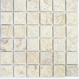 Lime Mosaik weiß gelb h10591