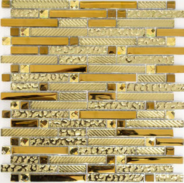 Qin Shi Mosaik mix gold h10768