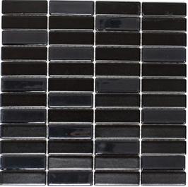 Architecture Mosaik schwarz mit Keramik Glas ST 355