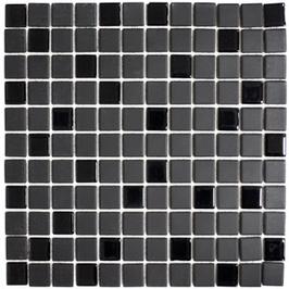 Architecture Mosaik schwarz h10313 mit Keramik und Glas