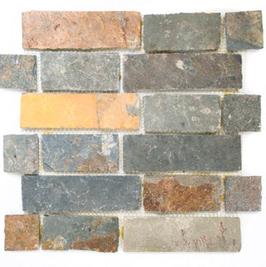 Subway Mosaik mix braun mit rost h10420, mix anthrazit h10421, mix hellbeige h10422 (und oder) weiß h10423