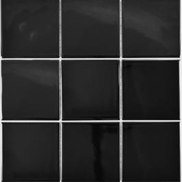 Architecture Mosaik schwarz h10224