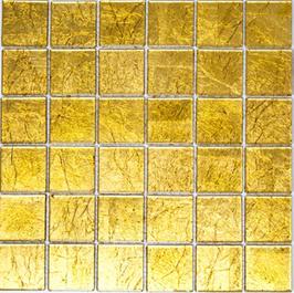 Foil Mosaik gold 4mm h10749 oder 8mm h10752