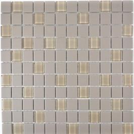 Architecture Mosaik hellgrau h10302 mit Keramik Glas
