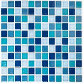 Classic Mosaik mix blau h10164