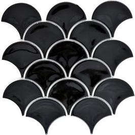 Fan Mosaik schwarz h10093