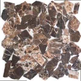 Hainan Mosaik mix braun h10458