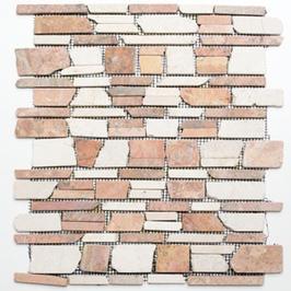 Bali Mosaik mix beige rot h10489