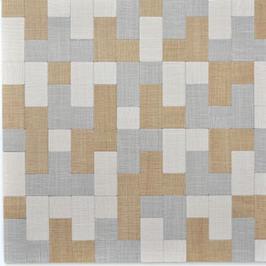 Move Mosaik selbstklebend in Holzoptik Textiloptik mix creme beige grau h11132