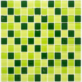 Timeless Mosaik mix grün 4mm h10843 oder 8mm h10844