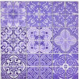Qin Shi Mosaik Retro violett h10785