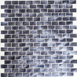 Modern Mosaik schwarz h10334 (und oder) mix schwarz h10335