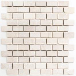 Face Mosaik weiß h10601