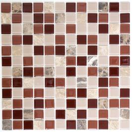 Improve Mosaik selbstklebend mix beige braun emperador h11149