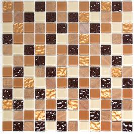 Improve Mosaik selbstklebend mix beige braun h11151