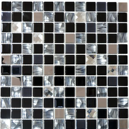Diamond Mosaik mix schwarz h10921