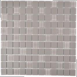 Architecture Mosaik grau h10308 mit Keramik Glas